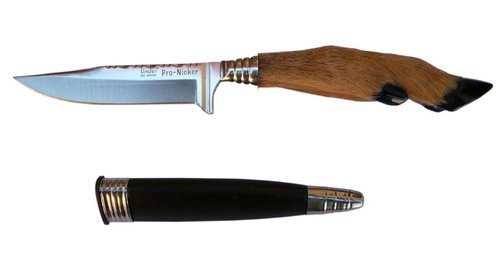 Folklore knife deerfoot